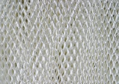 Labyrinth-Material aus Streckpapier, große Porung