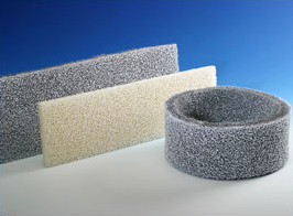 Fertigungsbeispiele aus beflocktem PU-Schaum-Material